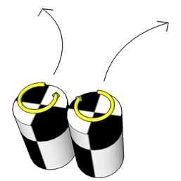 Magnus effekt experiment